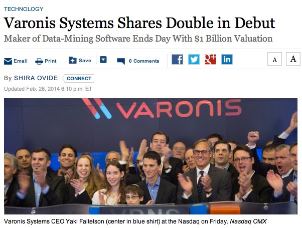 Varonis Forbes Article