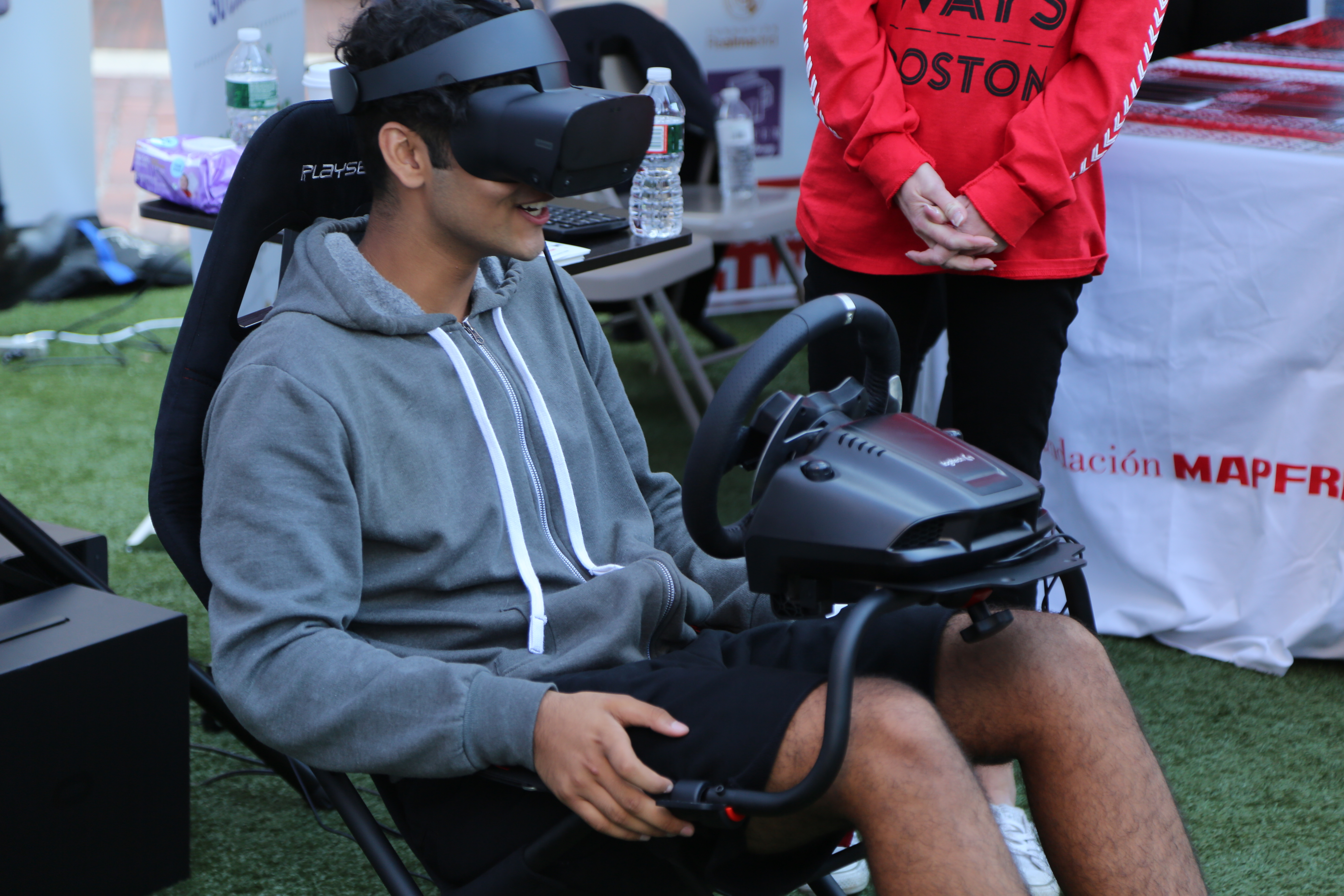 Look Both Ways Boston VR Driving Experience