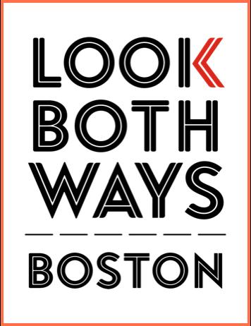 Look Both Ways Boston Logo