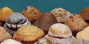 Variety of Muffins